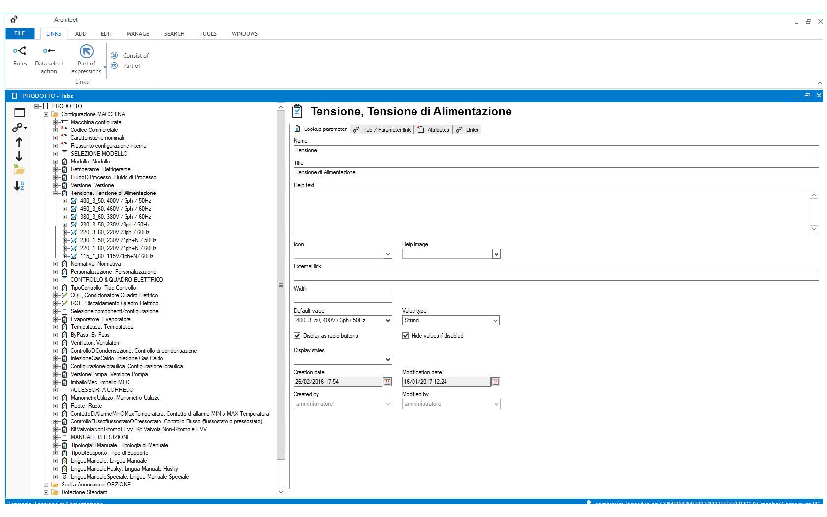 Sales Configurator-Architet