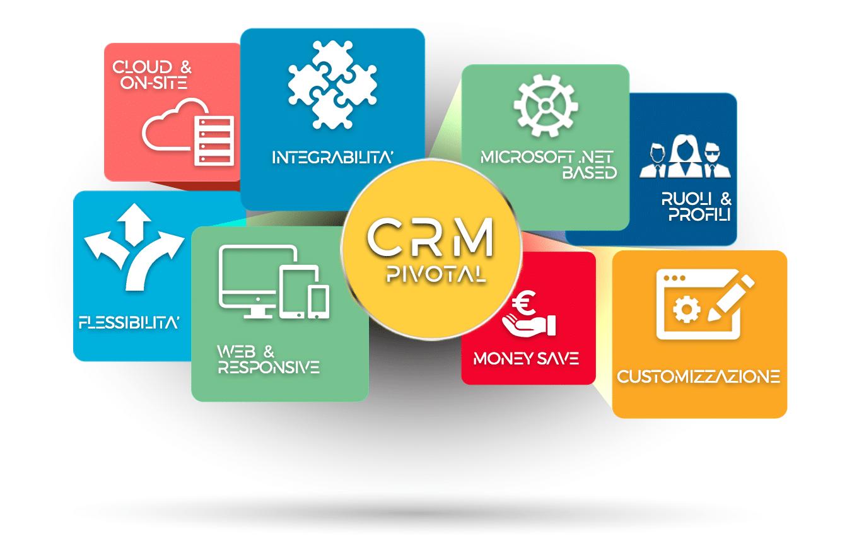 Infografica CRM Pivotal